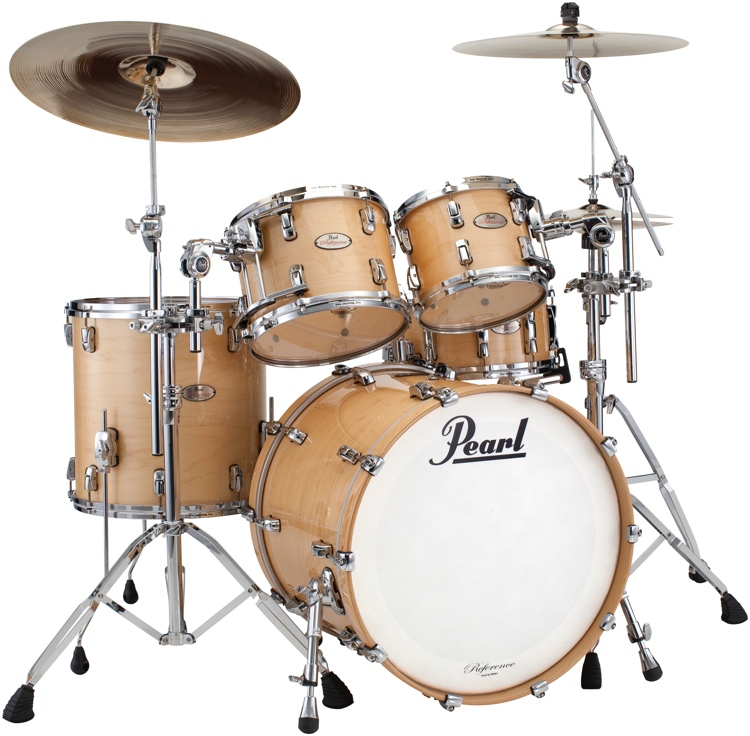 Pearl Reference Series 4-piece Shell Pack - Natural Maple image 1