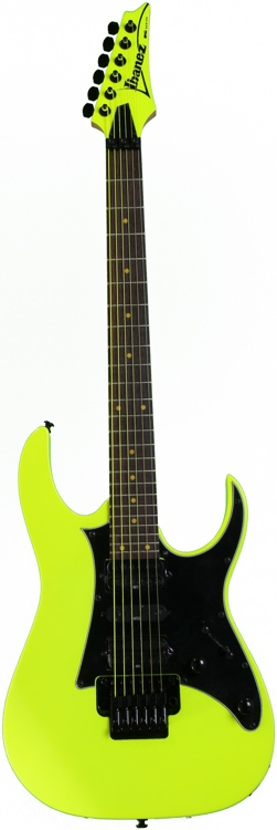 Ibanez RG2XXV 25th Anniversary Limited Edition - Fluorescent Yellow image 1