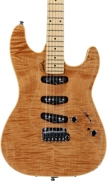 Godin Passion RG-3 - Natural Flame, Maple FB image 1