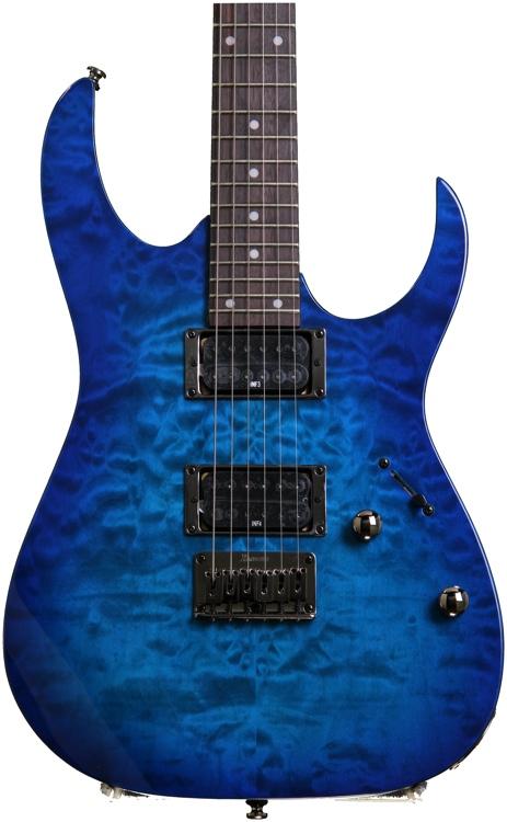 Ibanez RG421QM Sapphire Blue image 1