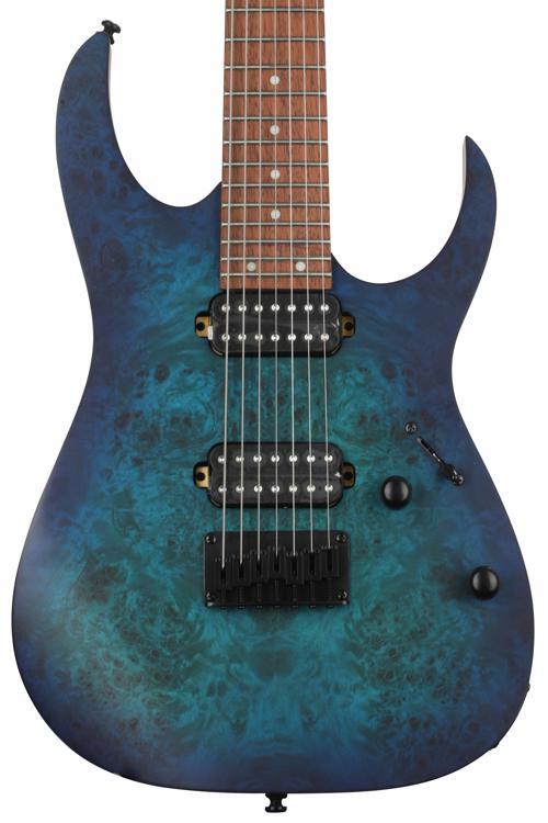 Ibanez RG Series RG7421PB - Sapphire Blue Flat image 1