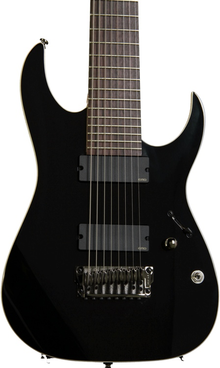 Ibanez RGIR28FE Iron Label, 8-string - Black image 1