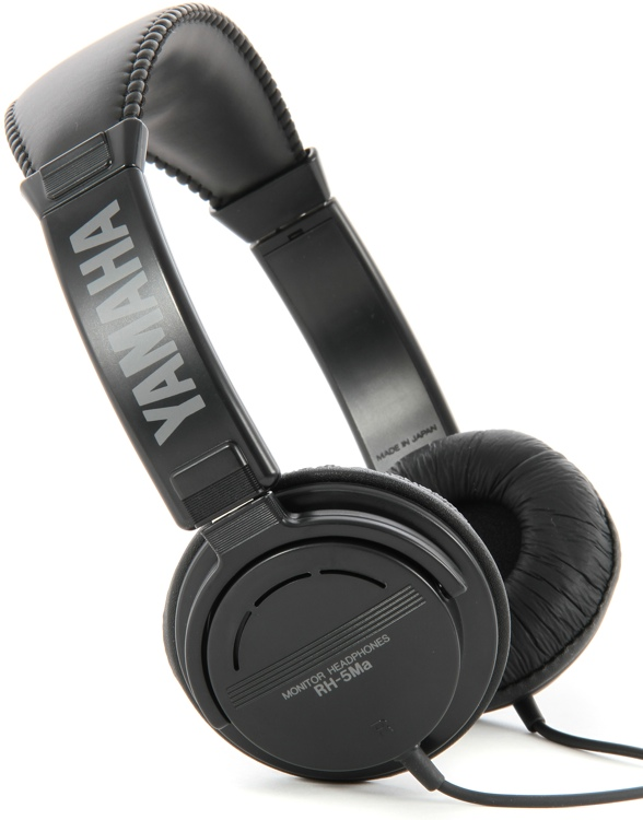 Yamaha RH5MA Supra-aural Headphones - Closed image 1