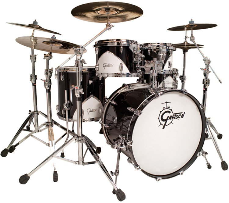 Gretsch Drums Renown \'57 5-Piece Shell Pack - Motor City Black image 1