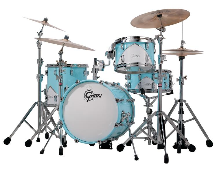 Gretsch Drums Renown \'57 4-Piece Shell Pack - Motor City Blue image 1