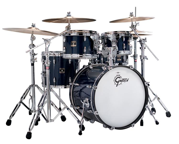 Gretsch Drums Renown Maple 5pc Shell Pack - Midnight Glass Glitter image 1