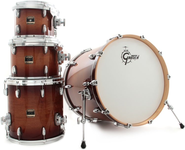 Gretsch Drums Renown Maple 4pc Shell Pack - Autum Burst image 1