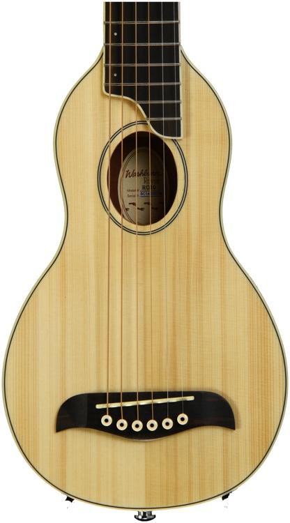 Washburn RO10 Rover Travel Guitar - Natural image 1