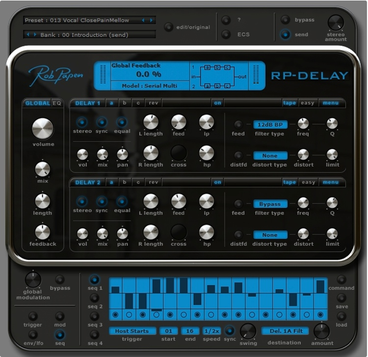 Rob Papen RP-Delay Plug-in image 1