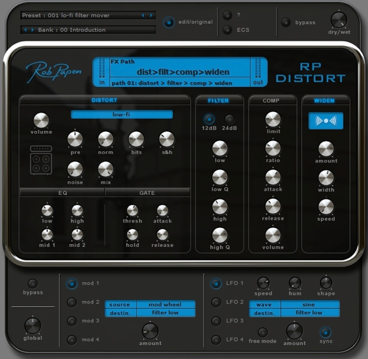 Rob Papen RP-Distort Plug-in image 1