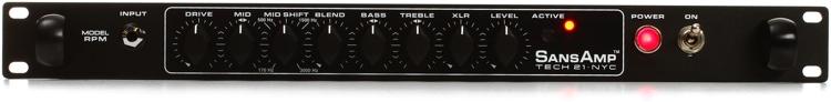 Tech 21 SansAmp RPM Bass Preamp image 1