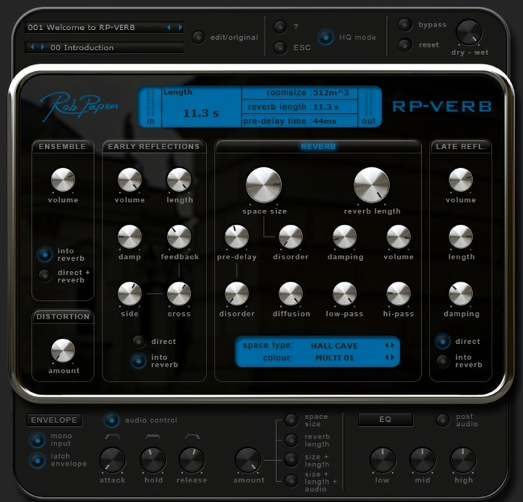 Rob Papen RP-Verb + Delay Plug-in - Upgrade from Delay image 1