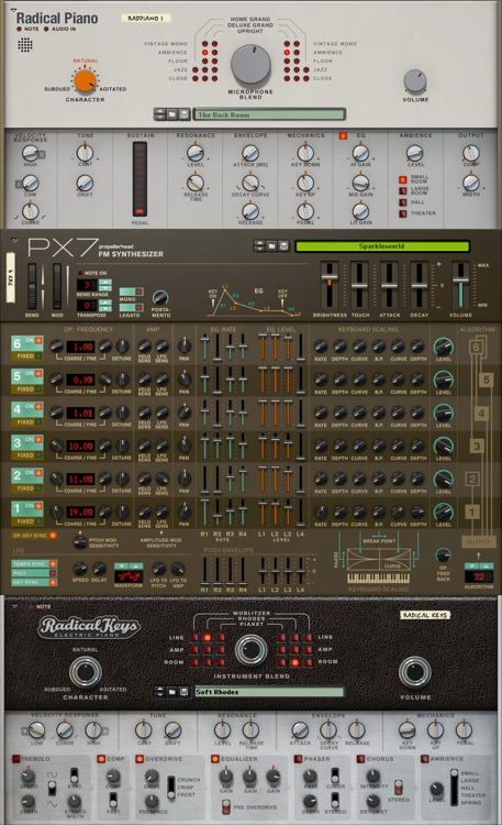 Propellerhead Instruments Bundle Rack Extensions for Reason image 1