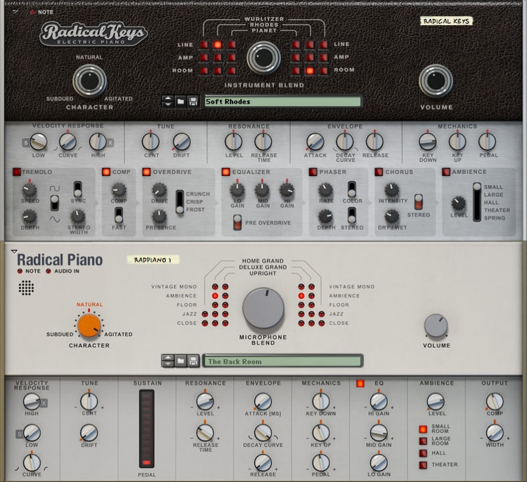 Propellerhead Radical Keyboard Bundle Rack Extension for Reason image 1