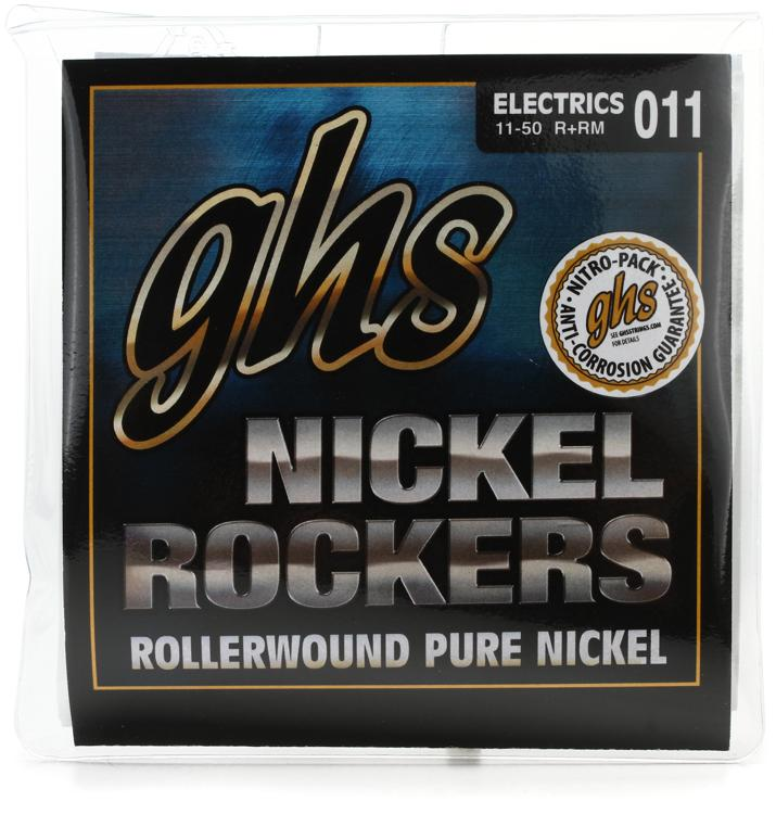 GHS R+RM Nickel Rockers Pure Nickel Medium Electric Guitar Strings image 1