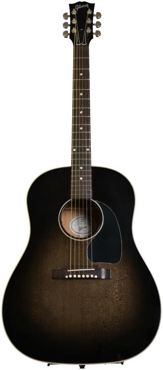 Gibson Acoustic J-45 Standard - Cobra Burst image 1