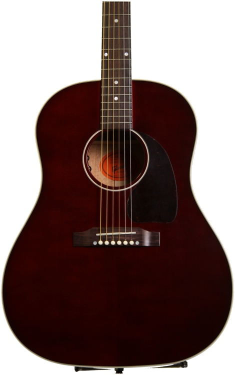 Gibson Acoustic J-45 Limited Edition - Wine Red image 1