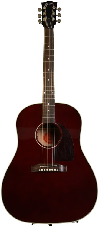 Gibson Acoustic J-45 Standard Limited Edition - Wine Red  image 1