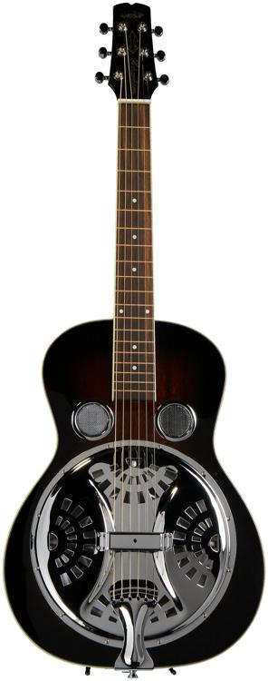 Wechter Guitars Scheerhorn Resonator Mahogany - R Hole, Tobacco Sunburst image 1