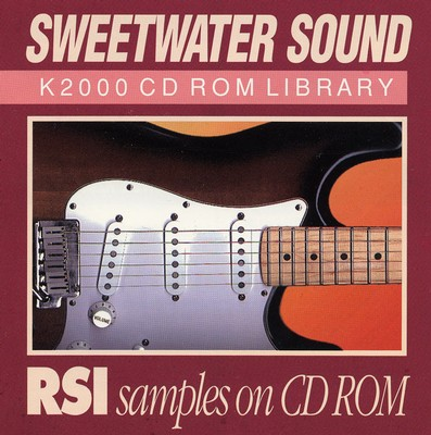 Sweetwater RSI CD image 1