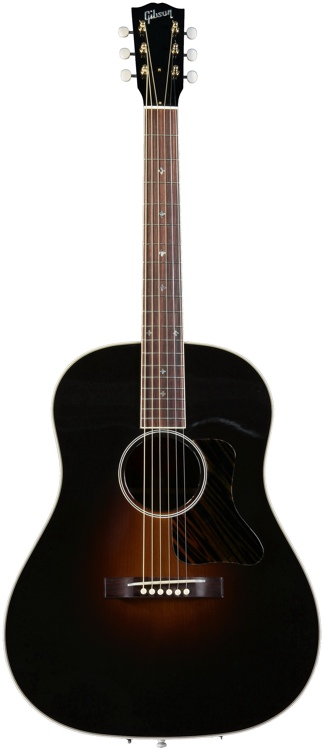 Gibson Acoustic Jackson Browne Signature Acoustic - Dark Burst Lacquer, No Pickup image 1