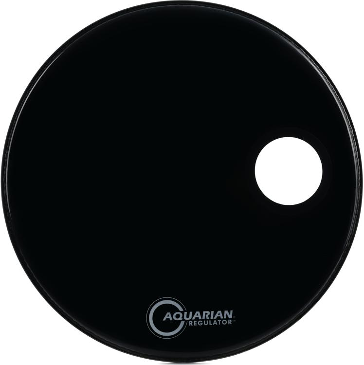 Aquarian Drumheads Regulator Ported Bass Drumhead - 22