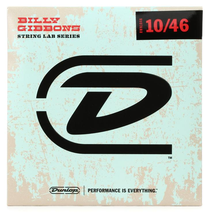 Dunlop Rev. Willy\'s Lottery Brand Nickel-Plated Steel Electric Strings - Medium image 1