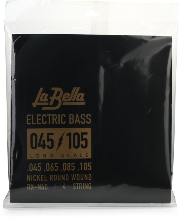 La Bella RX-N4D Rx Nickel Bass Strings - 0.045-0.105 4-string image 1