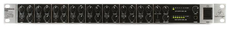 Behringer Eurorack Pro RX1602 Rackmount Line Mixer image 1