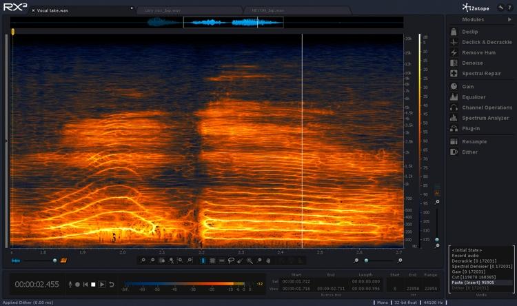 iZotope RX 3 Audio Repair Toolkit image 1