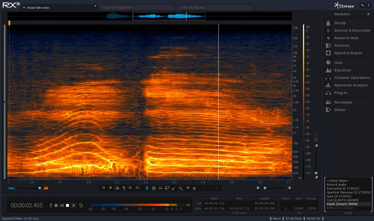 iZotope RX 3 Audio Repair Toolkit - Academic Version image 1