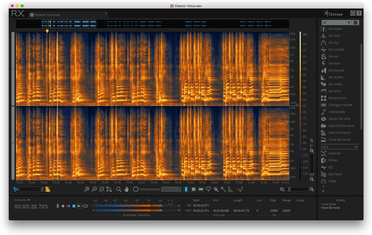 iZotope RX 6 Advanced Audio Editor - Upgrade from RX 1-5 Advanced image 1