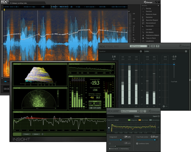 izotope rx post production suite upgrade from rx plug in pack sweetwater. Black Bedroom Furniture Sets. Home Design Ideas