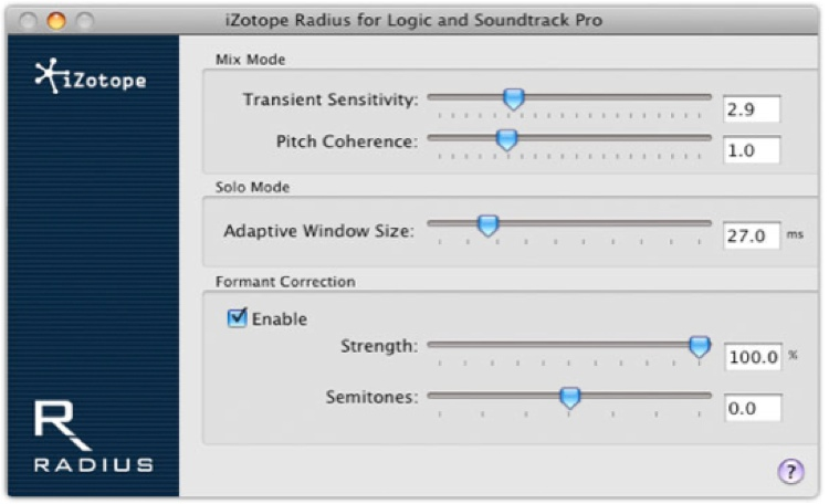 iZotope Radius - Academic Version image 1