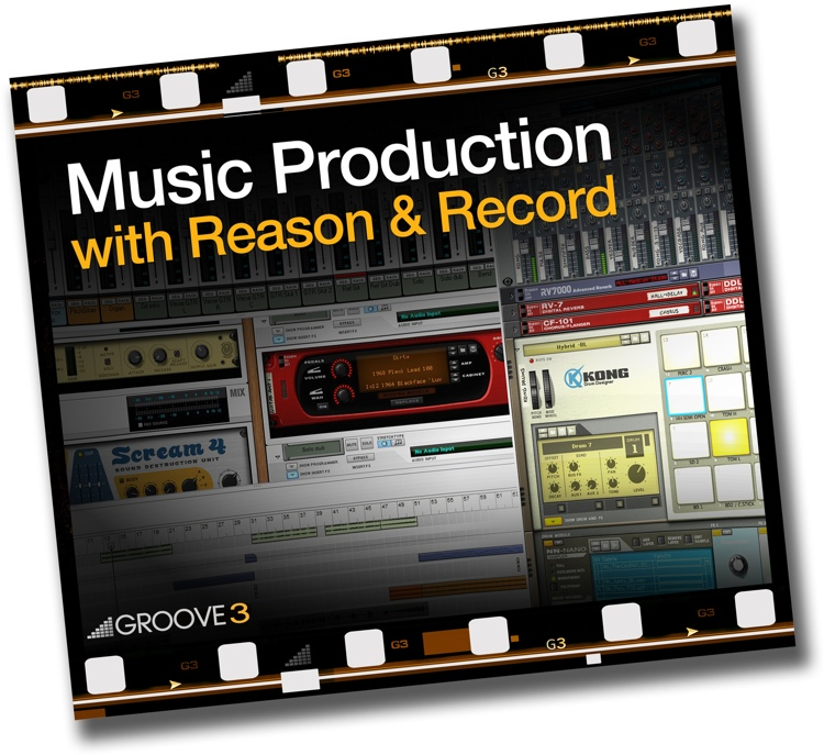 Groove3 Music Production with Reason & Record image 1