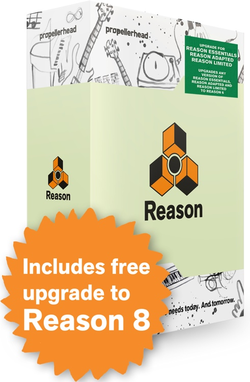 Propellerhead Reason 7 - Upgrade from Adapted/Limited/Essentials image 1