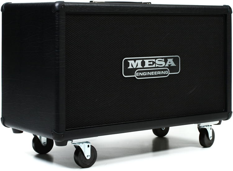 mesa boogie rectifier 2x12 120 watt horizontal extension cabinet black sweetwater. Black Bedroom Furniture Sets. Home Design Ideas