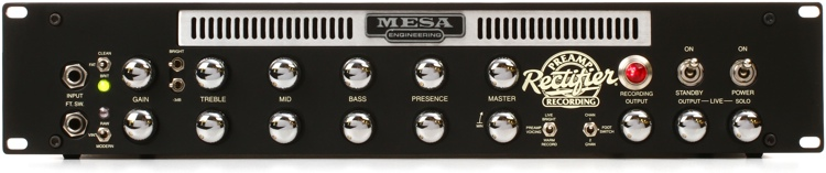 Mesa/Boogie Rectifier Recording Preamp - 2-channel Tube Preamp image 1