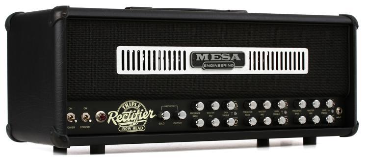 Mesa/Boogie Triple Rectifier 150-Watt Tube Head 150-watt Tube Head - Black Grille image 1