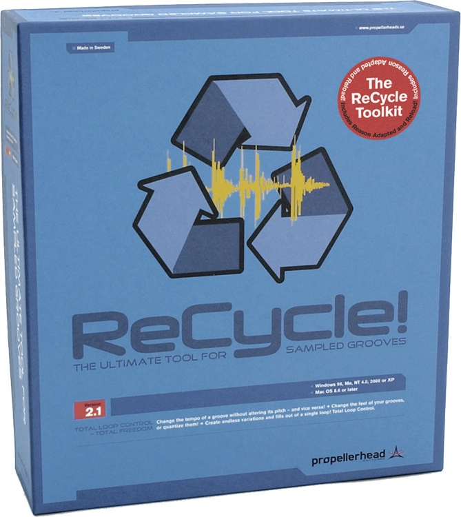 Propellerhead ReCycle (boxed) image 1