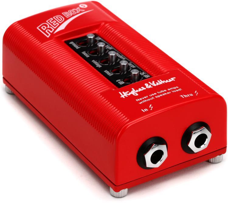hughes kettner red box 5 di and speaker simulator sweetwater. Black Bedroom Furniture Sets. Home Design Ideas