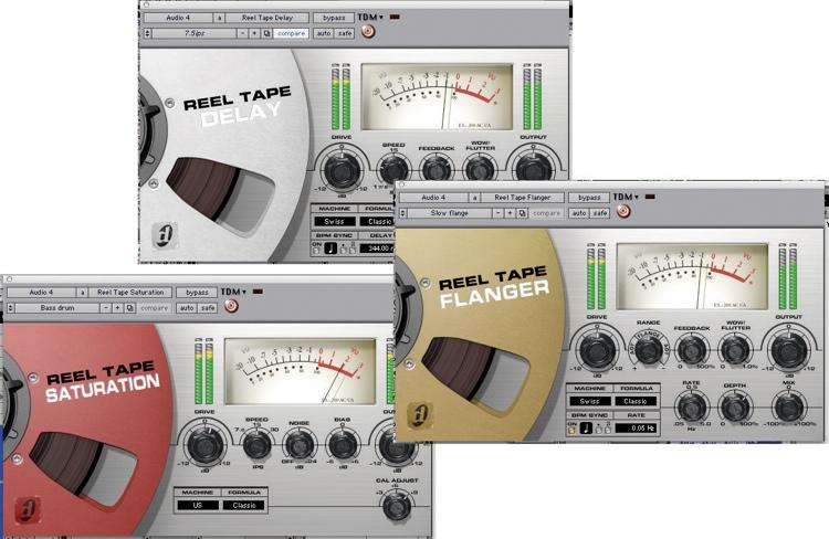 Avid Reel Tape Suite Plug-in Bundle image 1