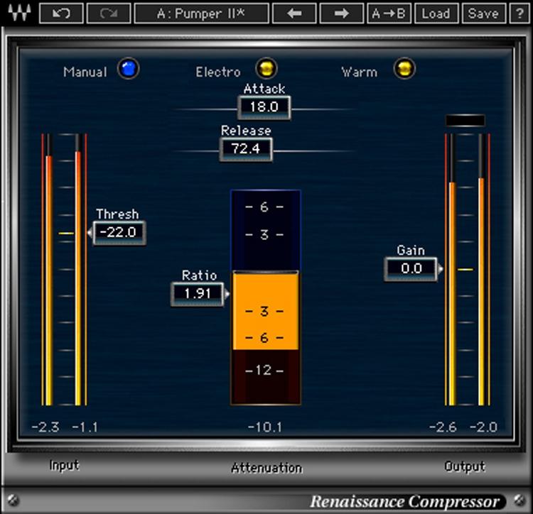 Waves Renaissance Compressor Plug-in image 1