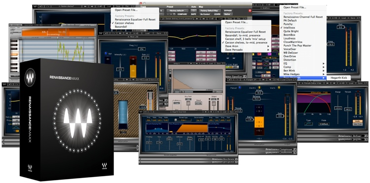 Waves Renaissance Maxx Plug-in Bundle for Academic Institutions image 1