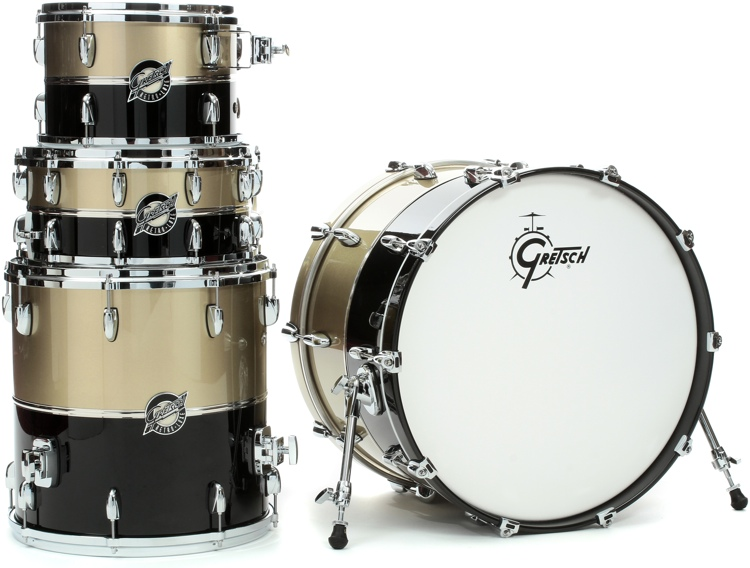 Gretsch Drums Renown Retroluxe 130th Anniversary 4-Piece Shell Pack image 1