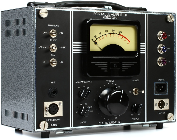 Retro Instruments OP-6 Portable Amplifier image 1