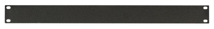 Raxxess SFT-1 Flat Steel Rack Panel - 1U image 1