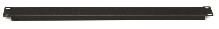 Raxxess SFG-1 Flanged Steel Rack Panel - 1U image 1
