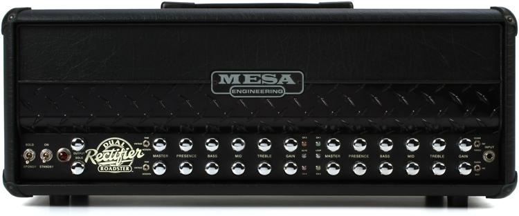 Mesa/Boogie Dual Rectifier Roadster 100-Watt Head - Diamond Plate Grill image 1