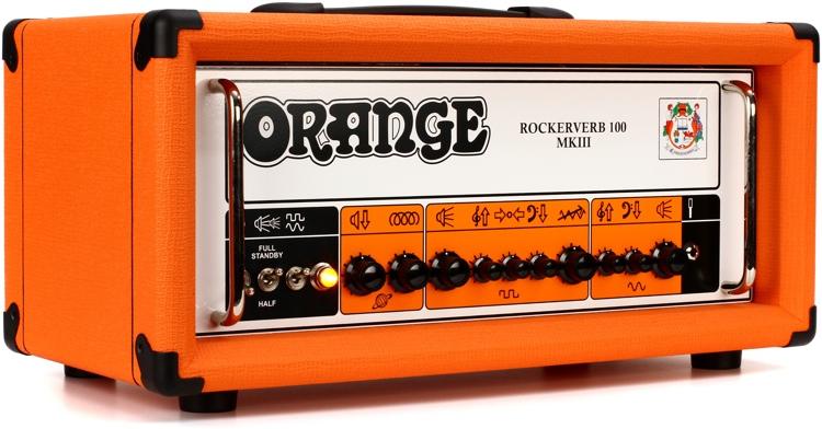 Orange Rockerverb 100 MKIII - 100-watt 2-channel Tube Head image 1